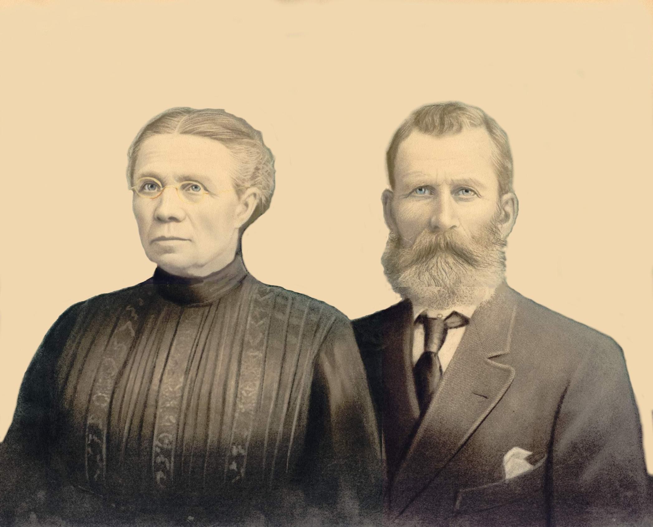 Athanase Lepage and Marie Dubé