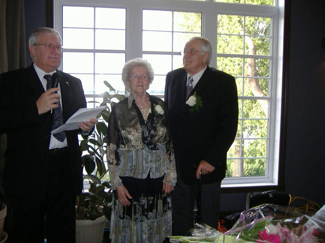 50e Wedding Anniversary of Georgette Lemieux and Alphonse Lepage