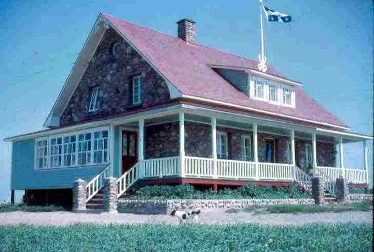 Ancestral house of Pierre-Paul Lepage in Rimouski